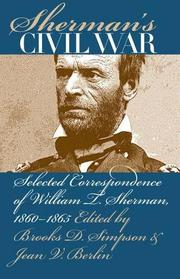 SHERMAN'S CIVIL WAR by William T. Sherman