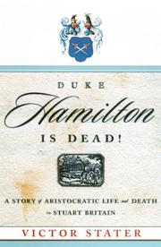 DUKE HAMILTON IS DEAD! by Victor Stater