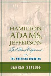 HAMILTON, ADAMS, JEFFERSON by Darren Staloff