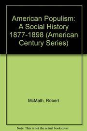 AMERICAN POPULISM by Jr. McMath