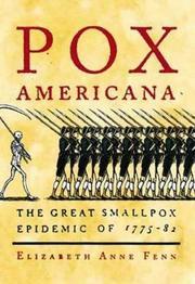POX AMERICANA by Elizabeth Anne Fenn