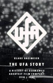 THE UFA STORY by Klaus Kreimeier
