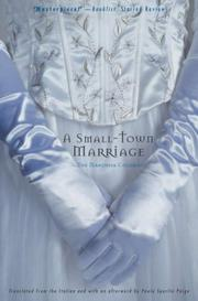 Book Cover for A SMALL-TOWN MARRIAGE