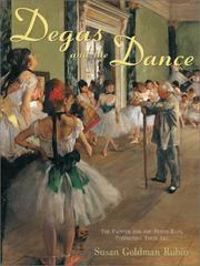 Book Cover for DEGAS AND THE DANCE