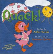 QUACK! by Arthur Yorinks