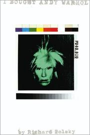 Cover art for I BOUGHT ANDY WARHOL