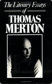 THE LITERARY ESSAYS OF THOMAS MERTON by Thomas Merton