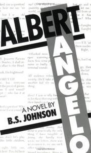 ALBERT ANGELO by B.S. Johnson