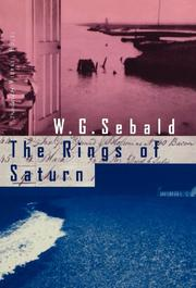 THE RINGS OF SATURN by W.G. Sebald