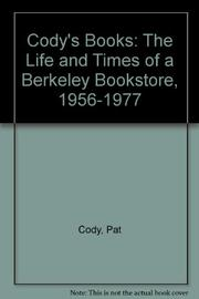 CODY'S BOOKS by Pat Cody