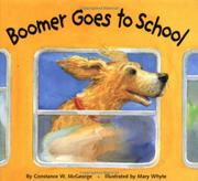 BOOMER GOES TO SCHOOL by Constance W. McGeorge