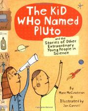 THE KID WHO NAMED PLUTO by Marc McCutcheon