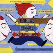 Cover art for MOM AND DAD ARE PALINDROMES