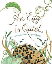 Cover art for AN EGG IS QUIET