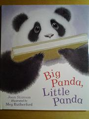 BIG PANDA, LITTLE PANDA by Joan Stimson