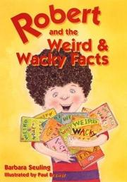Book Cover for ROBERT AND THE WEIRD & WACKY FACTS
