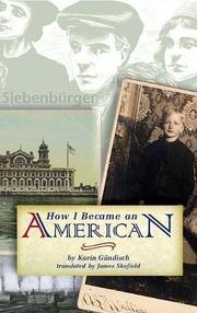 Cover art for HOW I BECAME AN AMERICAN