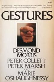 GESTURES by Desmond Morris