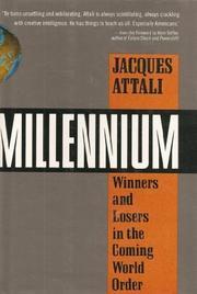 MILLENNIUM by Jacques Attali