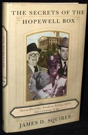 Cover art for THE SECRETS OF THE HOPEWELL BOX