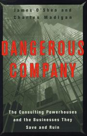 DANGEROUS COMPANY by James O'Shea