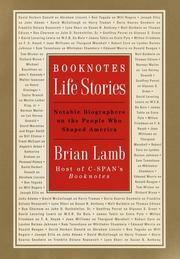 Book Cover for BOOKNOTES: LIFE STORIES
