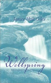 WELLSPRING by Janice Holt Giles