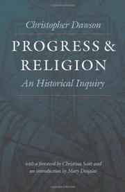 PROGRESS AND RELIGION by Christopher Dawson