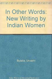 IN OTHER WORDS by Urvashi Butalia