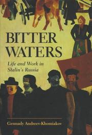 BITTER WATERS by Gennady Andreev-Khomiakov