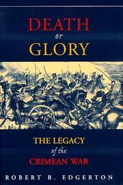 DEATH OR GLORY by Robert B. Edgerton