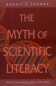 THE MYTH OF SCIENTIFIC LITERACY by Morris Shamos