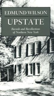 UPSTATE by Edmund Wilson