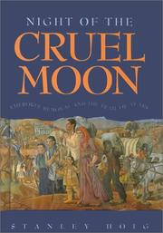 NIGHT OF THE CRUEL MOON by Stanley Hoig