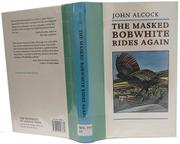 THE MASKED BOBWHITE RIDES AGAIN by John Alcock