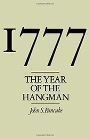 1777, THE YEAR OF THE HANGMAN by John S. Pancake
