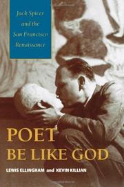 POET BE LIKE GOD by Lewis Ellingham