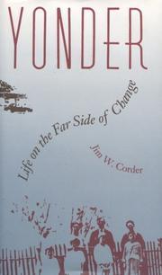 YONDER by Jim W. Corder