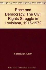 RACE AND DEMOCRACY by Adam Fairclough
