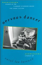 NERVOUS DANCER by Carol Lee Lorenzo