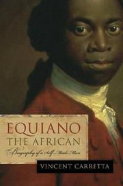 EQUIANO THE AFRICAN by Vincent Carretta