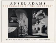 PHOTOGRAPHS OF THE SOUTHWEST by Ansel & Lawrence Clark Powell Adams