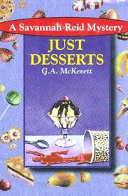JUST DESSERTS by G.A. McKevett
