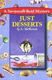 JUST DESSERTS by G.A. McKevett