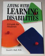 LIVING WITH LEARNING DISABILITIES by David E. Hall