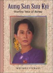 AUNG SAN SUU KYI by Whitney Stewart