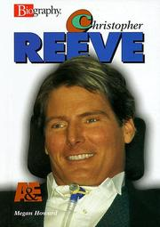 CHRISTOPHER REEVE by Megan Howard