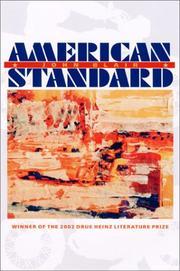 AMERICAN STANDARD by John Blair