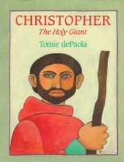 CHRISTOPHER by Tomie dePaola
