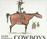 COWBOYS by Glen Rounds